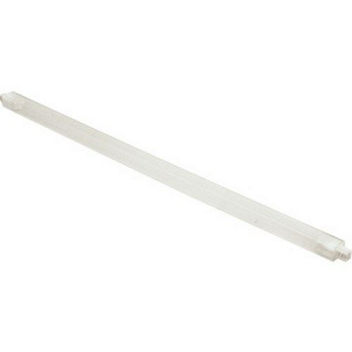 Clear Plastic Spring Loaded Towel Bar 3//4 x 24/""