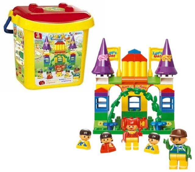 52 pcs Sluban Amusement Park Childs Large Building Blocks fits Compatible Bricks