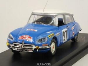 Citroen Ds 21 Rally Monte Carlo 1970 Pouderoux - Vincent 1:43 Rio 4514