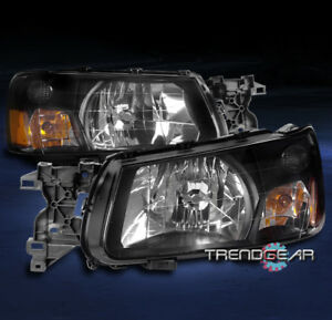 Image Is Loading For 2003 2004 Subaru Forester Replacement Headlight Headlamp