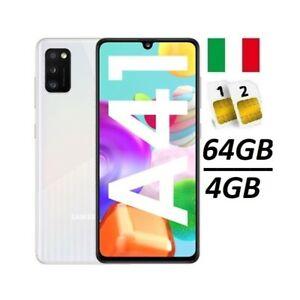SAMSUNG-GALAXY-A41-DUAL-SIM-SM-A415-DS-64GB-RAM-4GB-CRUSH-WHITE-ITALIA-NO-BRAND