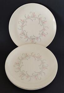 Homer-Laughlin-Dura-Print-Dinner-Plates-Set-of-Three-3-Pink-Floral-10-034