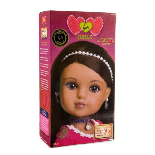 Hearts For Hearts Girls Nahji from India 14-inch Doll