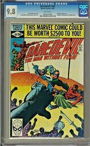Daredevil-166-CGC-9-8-White-Gladiator-app-Frank-Miller