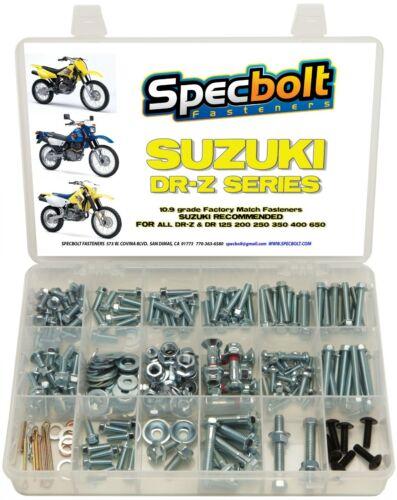 Bolt Kit Suzuki DR-Z DR 70 100 110 125 200 250 350 400 650 DRZ SM Plastics
