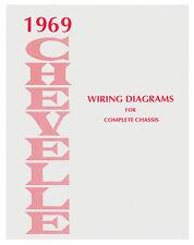 Chevelle 1969 Wiring Diagram 69 Ebay