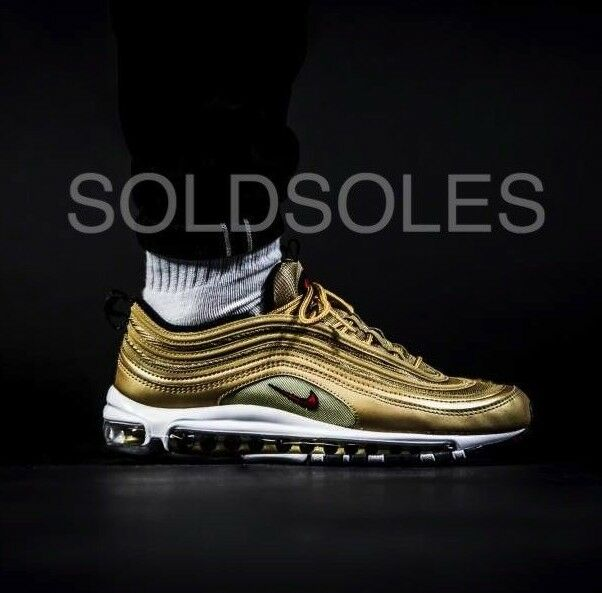 Nike Air Max 97 metalic gold bullet Homme-