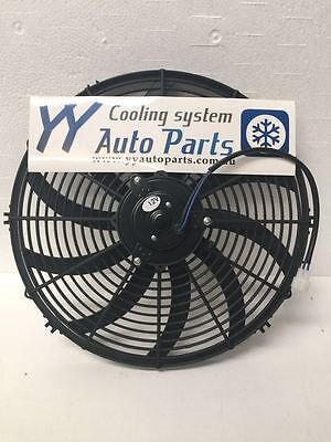 "16"" inch Electirc Thermo Curved Blade Fan with free mount kit"