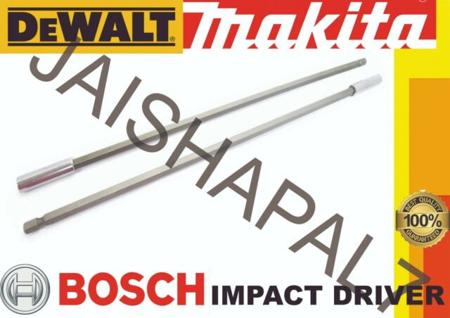 """For Your Makita Impact Magnetic 300mm 12/"""" Screwdriver Bit Holder 1//4/"""" Hex Drill"""