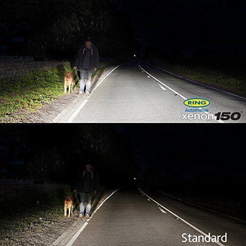 Ring Xenon150 Premium H4 12v Car 150/% Brighter Upgrade Headlight Headlamp Bulbs