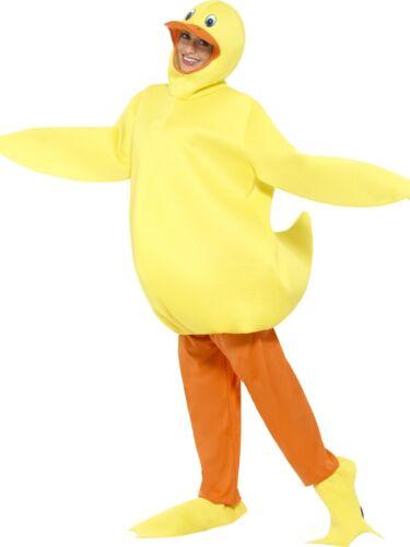 Adult/'s Duck Costume Teachers World Book Day Week Chicken Hen Fancy Dress New