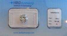 DIAMANT Rond NATUREL 1.86 CARATS certifié  DIAMOND CERTIFICAT HRD
