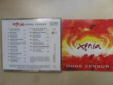 Xenia/Ohne Zensur 1992 feat. Ulli Bäer Gary Lux 17 Track Austria/CD
