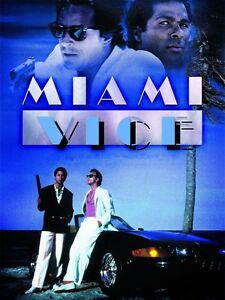 MIAMI VICE Poster Hollywood 80/'s Stars Hunk Playboy 01 Multiple Sizes