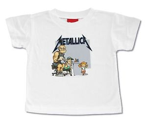 "METALLICA ""TATTOO"" WHITE TODDLER T-SHIRT NEW OFFICIAL BABY KIDS METAL BAND"