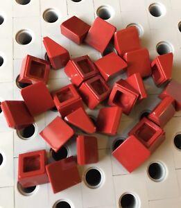 Lego Hot Pink 1x1x2//3 Mini Slopes Roof Tile Bricks 1 X 1 Smooth Finishing New 25
