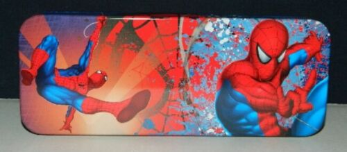 The Amazing Spider-Man Tin Catch All Pencil Case Style C NEW UNUSED MARVEL