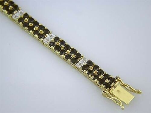 SAPHIR /& DIAMANTS Tennis Bracelet