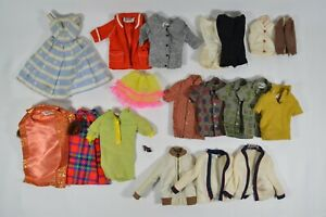 LOT-of-Original-1960-039-s-Barbie-amp-Ken-Doll-Clothes-with-sewn-in-Mattel-Tags