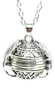 Angel-Wing-4-Photo-Pendant-Expanding-Picture-Locket-24-034-Necklace-Silver-amp-Bag-UK