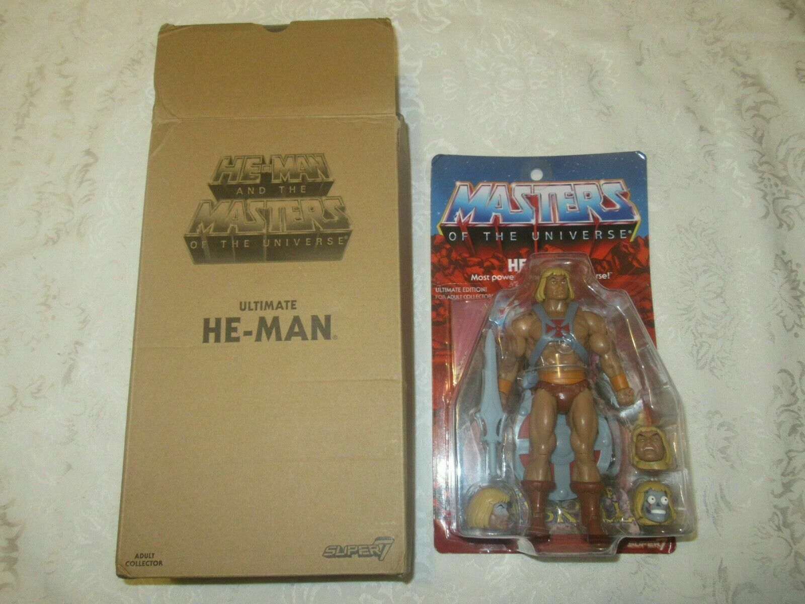 Super7 He-Man and Masters of the Universe MOTU Filmation 2.0 Ultimate He-Man