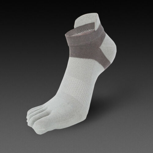 1 Paires De Sport Hommes Déodorant Five Finger Toe Socks Coton cheville Casual Sock