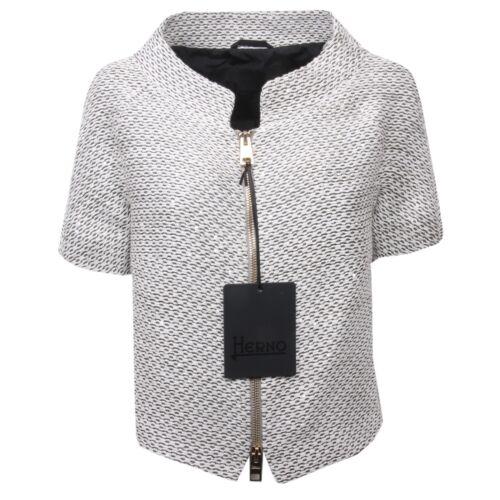 Giacca bianco Donna C0382 nero Jacket Herno Woman Argento Z8Czwqxd