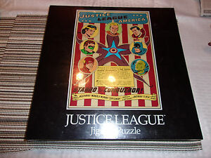DC Comics 1988 Justice League Of America Jigsaw Puzzle 550pc