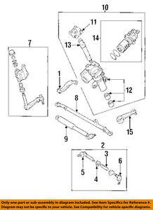 toyota oem 97-98 t100 steering gear-damper assembly 4570039075 | ebay  ebay