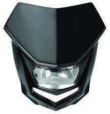New Polisport Halo Headlight Enduro CRF Road Legal All Black Motorcycle
