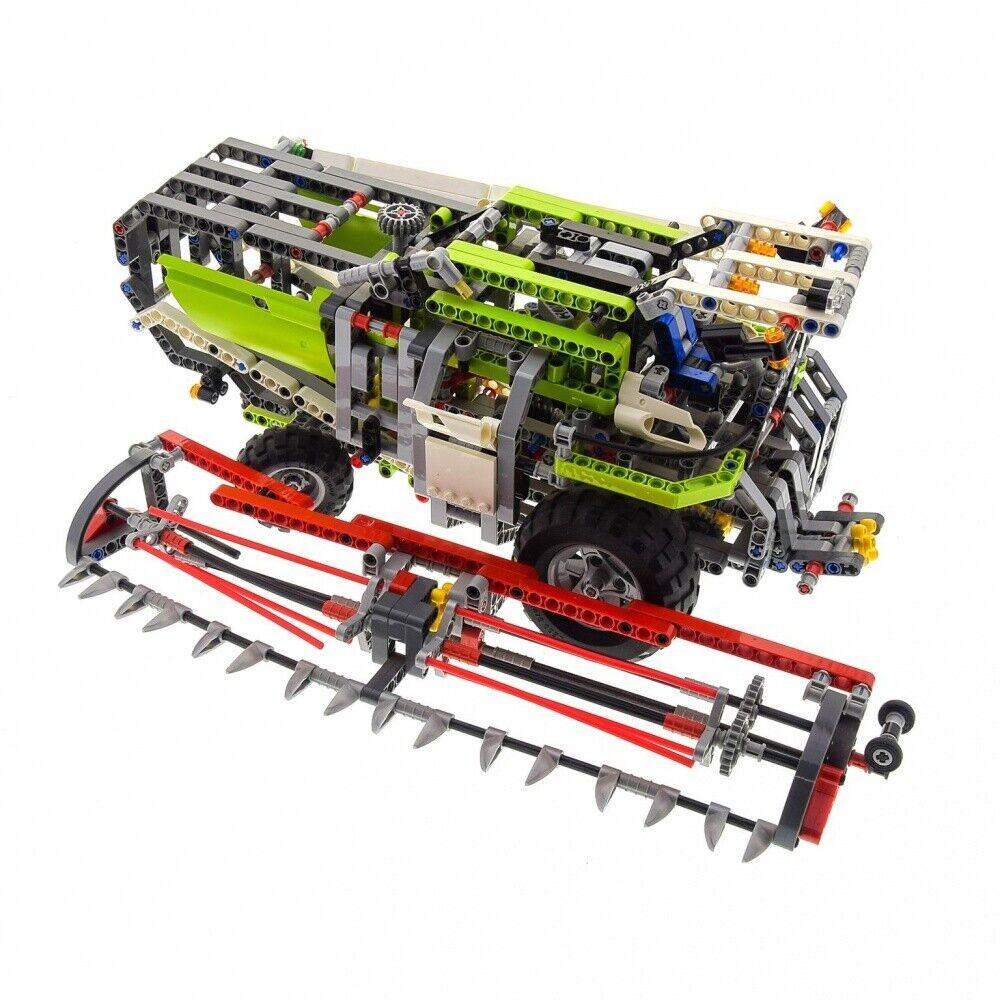 1 x Lego Technic Set Modell Farm 8274 Mähdrescher Combine Harvester grün weiss T