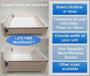 Details About Replacement Kitchen Drawers Complete Drawer Box Kit All Sizes From 26 25