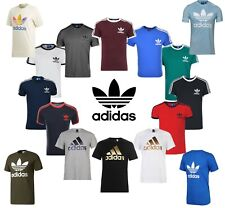 Adidas Originals Men's T-Shirt California Essentials Crew Neck Short Sleeve Gift