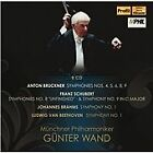 "Anton Bruckner: Symphonies Nos. 4, 5, 6, 8, 9; Franz Schubert: Symphonies Nos. 8 ""Unfinished"" & 9; J (2016)"