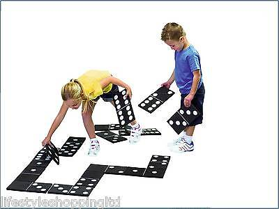 Giant Dominoes Game Outdoor Indoor Party Office Family Kids Fun Toy Light  NEW
