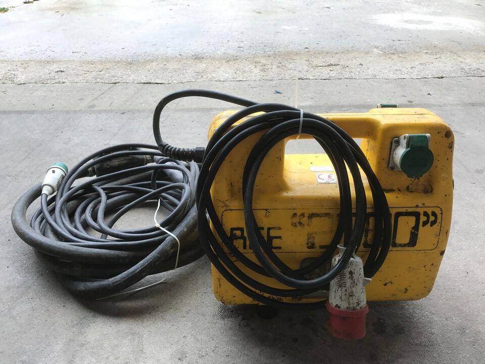 Andet elværktøj, Enar Omformer AFE 2000