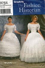 Simplicity Misses' Crinoline and Petticoat Pattern 9764 Size 6-12 UNCUT