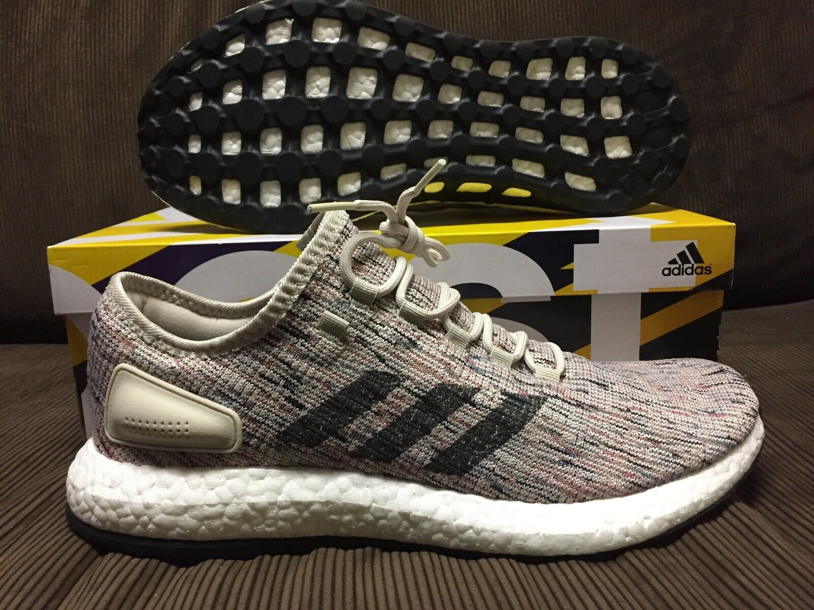 ADIDAS ULTRABOOST KNIT MULTI-COLOUR NEW DS Sz 1 US