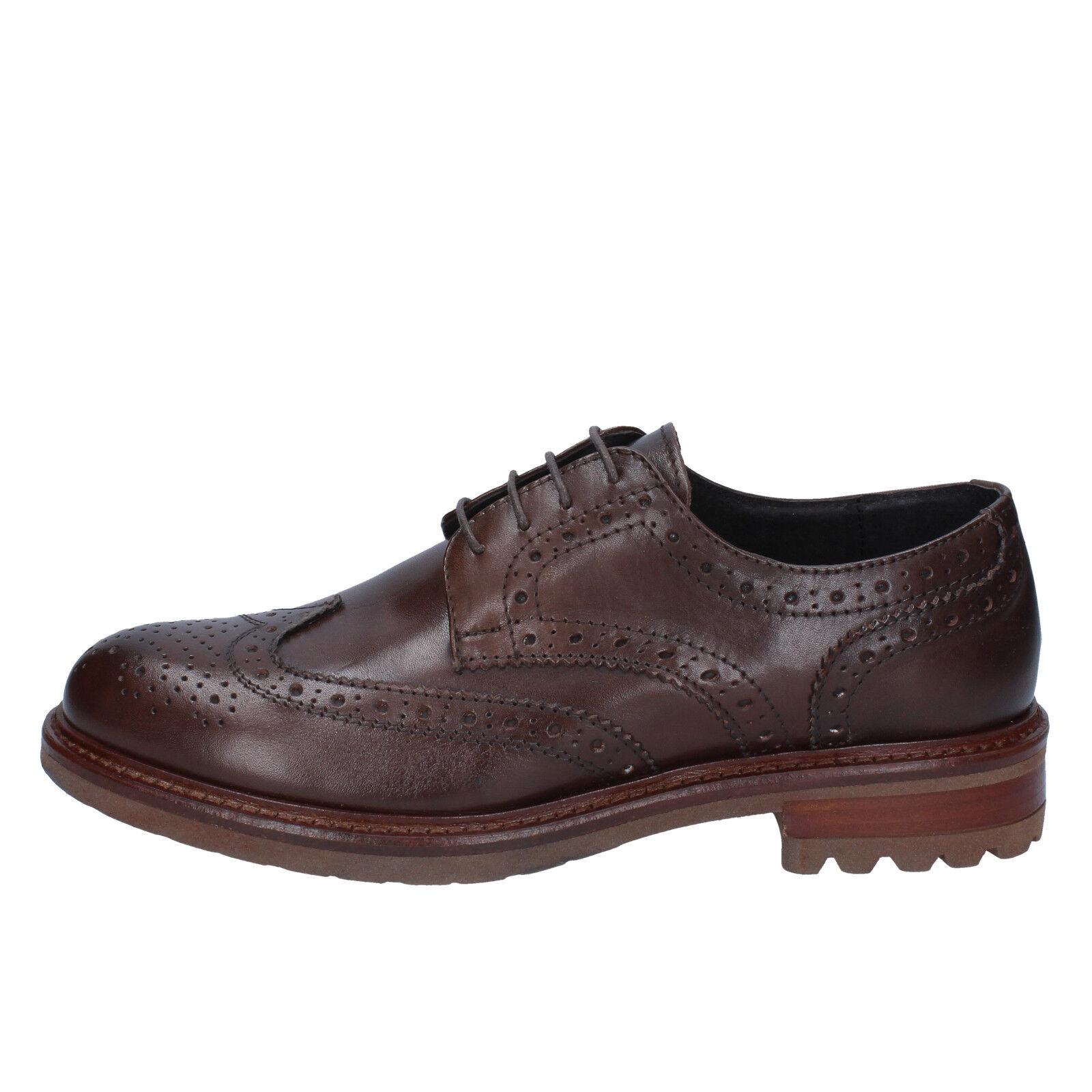 Negozio 2018 Uomo scarpe J. BREITLIN 11 11 11 (EU 44) elegant Marrone leather BX212-44  prendi l'ultimo