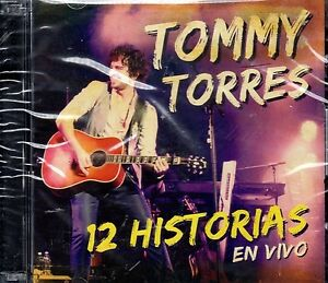 TOMMY TORRES - 12 HISTORIAS  EN VIVO - 1CD + 1DVD