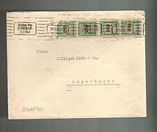 1923 Berlin Germany Inflation cover to Copenhagen Denmark 80 Million Marks