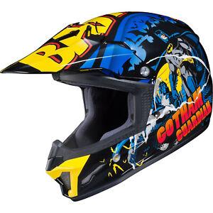 HJC CL-XY II Batman Youth Motocross Helmet Kids MX Off-Road ATV DirtBike Helm