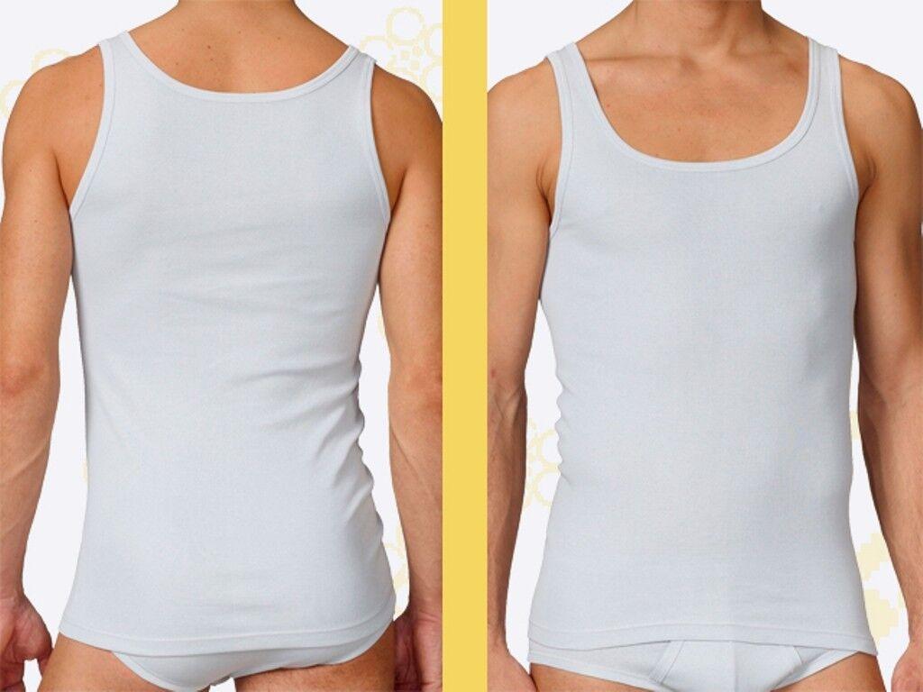Calida 8 x x x Athletik Shirt Herren Unterhemd Gr. 4 - 8 weiss 12010 Baumwolle Shirt | Kunde zuerst  | Günstige  | Günstigen Preis  | Eleganter Stil  | 2019  1290b5