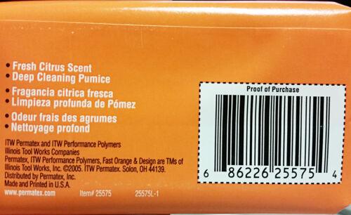 AMAZING VALUE 25575 PERMATEX FAST ORANGE PUMICE HAND BAR SOAP CASE OF 12