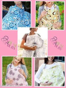Best4Bubs-Nursing-Breastfeeding-Cover-Matching-Travel-Pouch-included