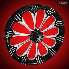 "Harley Davidson Road Glide 21"" inch Custom Front Wheel ""Warlock"""