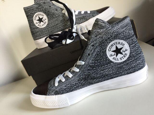 Converse Chucks All Star X Nike Flyknit High EU 44 UK 10 grau 157510C