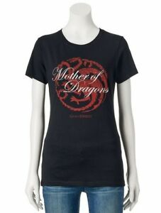 Game-Of-Thrones-MOTHER-OF-DRAGONS-Girls-Women-039-s-T-Shirt-NWT-Licensed-amp-Official