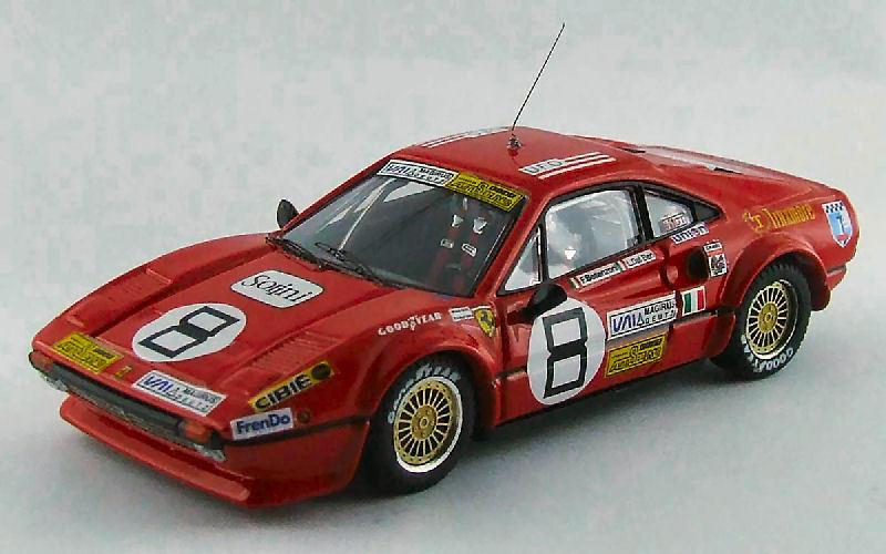 Ferrari 308 Gtb th 24h Daytona 1978 Besenzoni   Dal Ben   Wever 1 43 Model