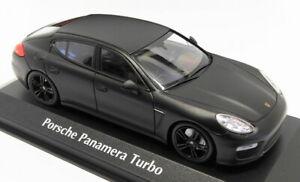 Maxichamps-1-43-Scale-940-062370-2013-Porsche-Panamera-Turbo-Matt-Black